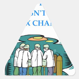 doctor triangle sticker