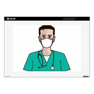 "Doctor vector decals for 15"" laptops"