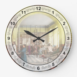 Doctor - Welcome to the A Traction Large Clock