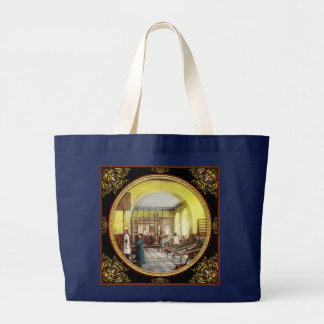 Doctor - Welcome to the A Traction Large Tote Bag
