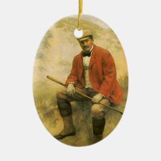 Doctor William Laidlaw Purves, Portrait by Collier Ceramic Ornament