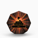 """Doctor World&#39;s Greatest Custom Gold Award<br><div class=""""desc"""">A graphic image of a trophy style world globe  by artist/designer Charmaine Paulson on a award.  The award has the (customizable) text &quot;World's Greatest Doctor"""" and templates for your personalization..</div>"""