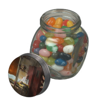 Doctor - X-Ray - In the doctors care 1920 Jelly Belly Candy Jar
