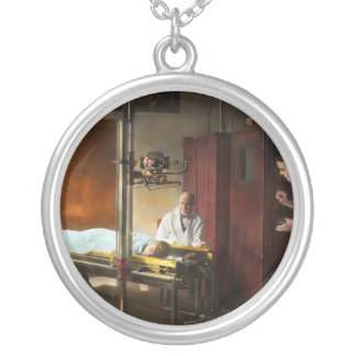 Doctor - X-Ray - In the doctors care 1920 Silver Plated Necklace