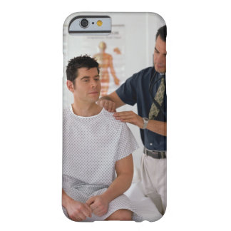 Doctor y paciente funda para iPhone 6 barely there