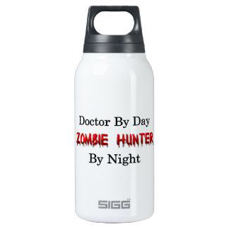 Doctor/Zombie Hunter Insulated Water Bottle