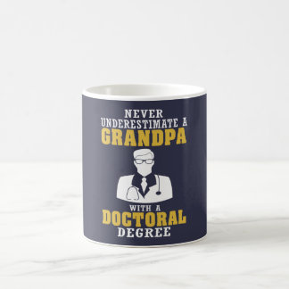 Doctoral Degree Grandpa Coffee Mug