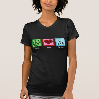 Doctores del amor de la paz camisetas