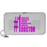 Doctores modernos rosados: Doctor del número uno Laptop Altavoz