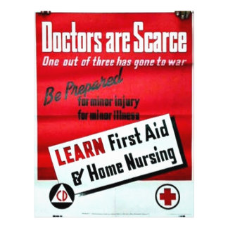 Doctors Are Scarce Full Color Flyer