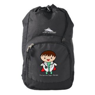 Doctors Are Super Heroes Backpack