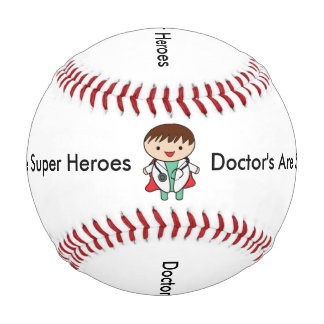 Doctors Are Super Heroes Baseball