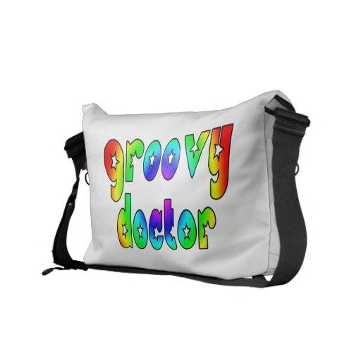 Doctors Birthday Christmas Parties : Groovy Doctor Commuter Bag