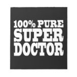 Doctors Birthday Parties : 100% Pure Super Doctor Memo Pad