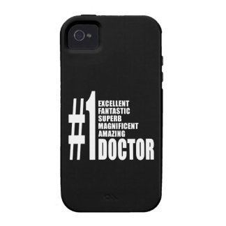 Doctors Birthdays Gifts Number One Doctor Case-Mate iPhone 4 Covers