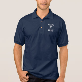DOCTORS FOR HILLARY POLO SHIRT