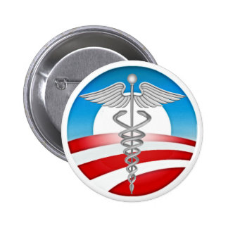 Doctors for OBAMA Button