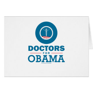 Doctors for Obama Card