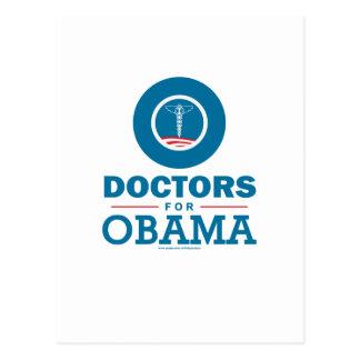 Doctors for Obama Postcard