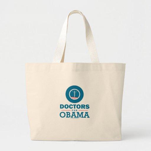 Doctors for Obama Tote Bag