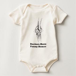 Doctors Have Funny Bones Baby Bodysuit