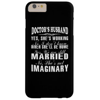 Doctor's Husband Barely There iPhone 6 Plus Case