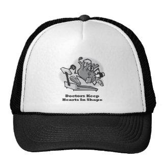 Doctors Keep Hearts in Shape Trucker Hat