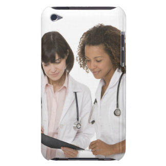Doctors looking at clipboard barely there iPod covers