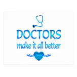 Doctors Make it Better Postcard