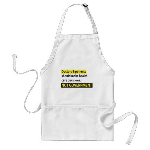 Doctors Not Government Aprons