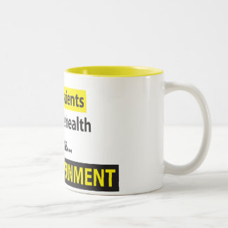 Doctors Not Government Two-Tone Coffee Mug