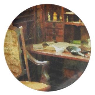 Doctor's Office Dinner Plate