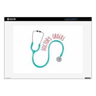 Doctors Orders Laptop Decal