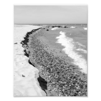 Doctors Park Beach, Lake Michigan, Milwaukee, WI Photo Print