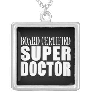 Doctors Parties Board Certified Super Doctor Necklace