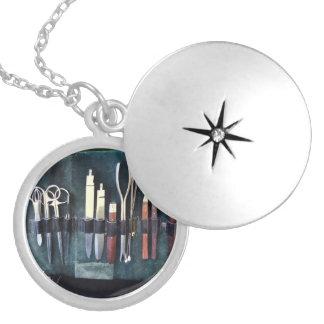 Doctors - Surgical Instruments Circa Civil War': Round Locket Necklace