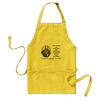 Doctrine Nothing But Skin Of Truth Set Up Stuffed Adult Apron