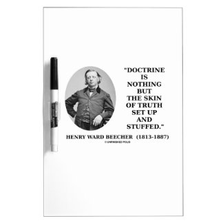 Doctrine Nothing But Skin Of Truth Set Up Stuffed Dry-Erase Board