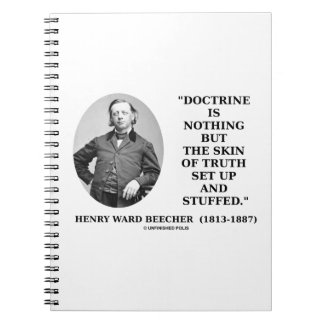 Doctrine Nothing But Skin Of Truth Set Up Stuffed Notebook