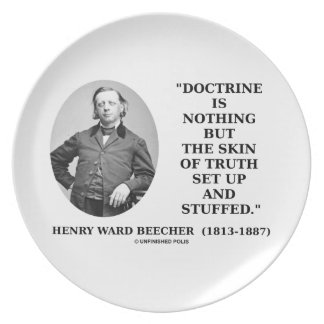 Doctrine Nothing But Skin Of Truth Set Up Stuffed Party Plate