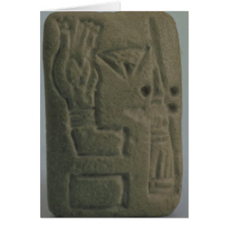 Document consisting of ideograms, from Uruk, Card