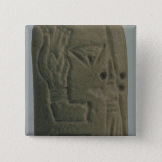 Document consisting of ideograms, from Uruk, Pinback Button