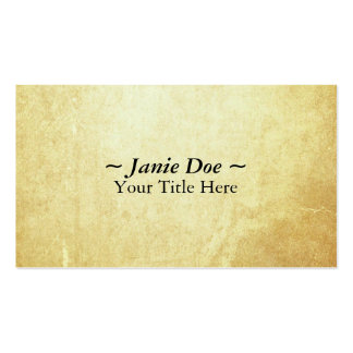 Document Paper Business Card