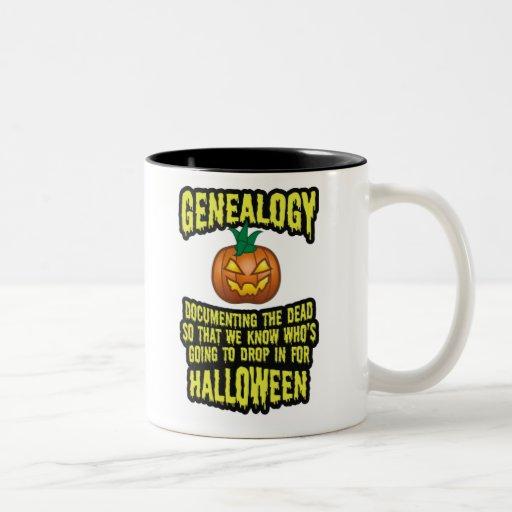 Documentación de los muertos taza de café