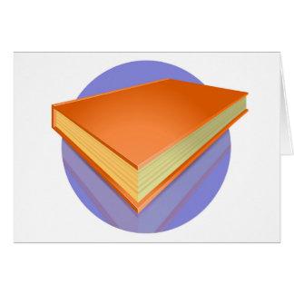 Documentalista, librero tarjeta de felicitación