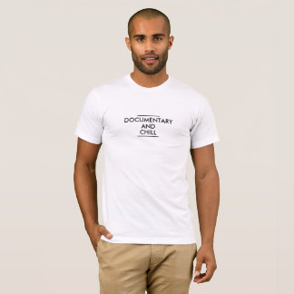 Documentary & Chill Men's American Apparel Tee
