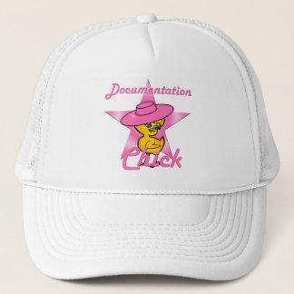Documentation Chick #8 Trucker Hat