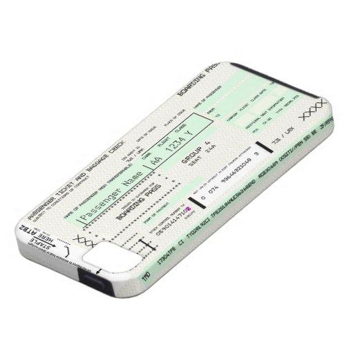 Documento de embarque adaptable - caso de Iphone 5 iPhone 5 Case-Mate Carcasa