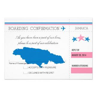 Documento de embarque de RSVP a JAMAICA Comunicados