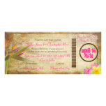 Documento de embarque del vintage de PixDezines/av Invitaciones Personales